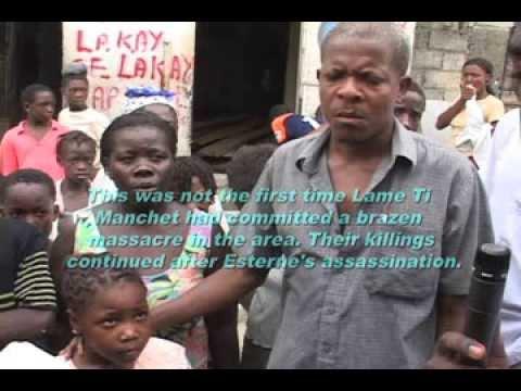 Grand Ravine, Haiti massacre interview, August 24, 2006