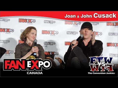 Joan & John Cusack - Fan Expo Canada - Panel