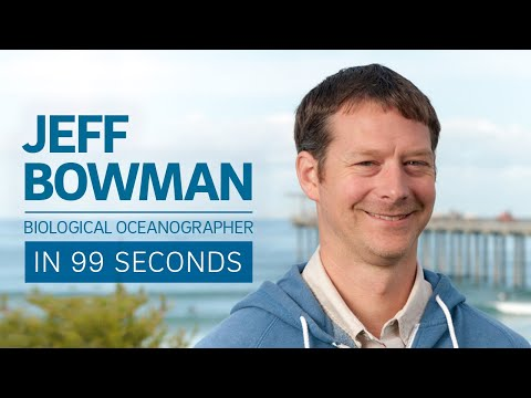 Biological Oceanographer Jeff Bowman in 99 Seconds