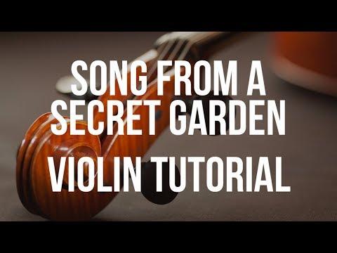 Violin Tutorial: Song from a Secret Garden