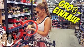 Supermarkt Vlog/Großeinkauf   Lisha&Lou