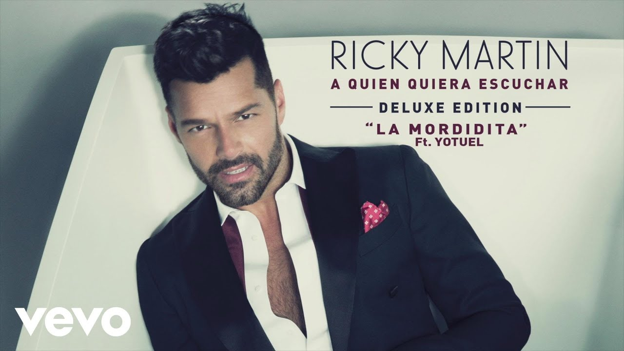 Ricky Martin La Mordidita Ft Yotuel Audio Youtube
