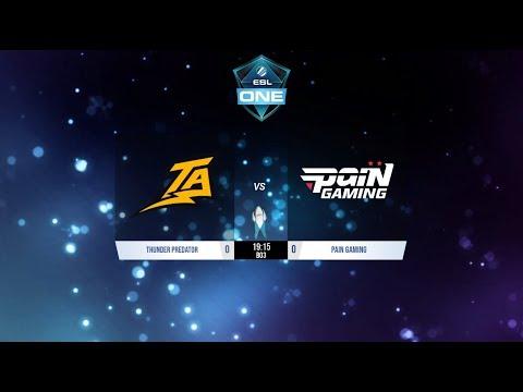 Dota 2   Thunder Predator vs Pain Gaming   Semifinales   ESL One Birmingham Sudamerica