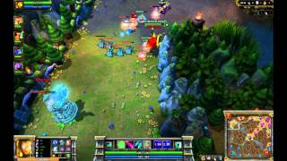 League of Legends 5v5 gameplay with live duel commentary 4 - Cassiopeia