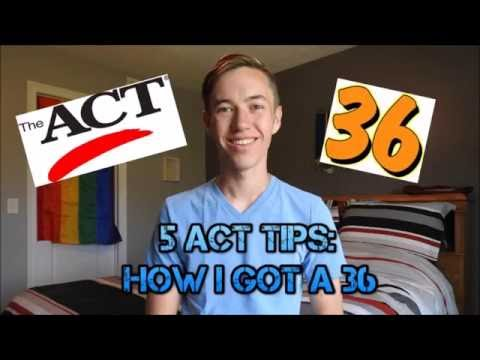 ACT Tips: How I Got a 36