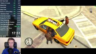 GTA IV Any% World Record Speedrun in 3:39:09