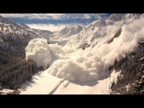 Снегопады в Таджикистане! Снежные лавины угрожают стране