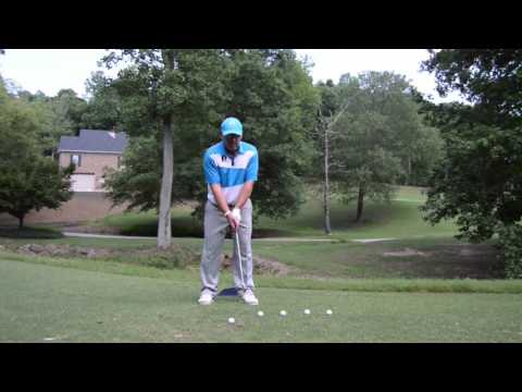 Bradley Hughes Golf- How To NOT Hit At the Ball