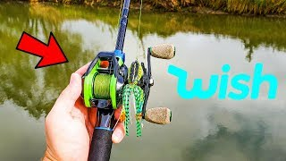 Wish App Fishing Challenge (Rod, Reel, Line, Lures)