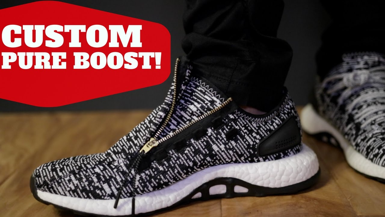 b338769af035f7  7 CUSTOM ! BOOST W  ZIPPER! (ACRONYM INSPIRED 2017 PUREBOOST) - YouTube