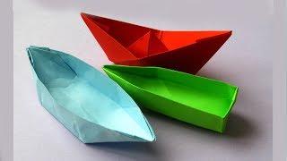 ТОП-3 Плавающих Кораблика из Бумаги, Которые Легко Сделать Своими Руками