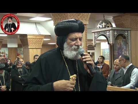 رفع بخور عشية الأنبا كيرلس والأنبا أباكير بالسويد 24/1/12 Vesper prayer Anba Kyrillos & Anba Abakir
