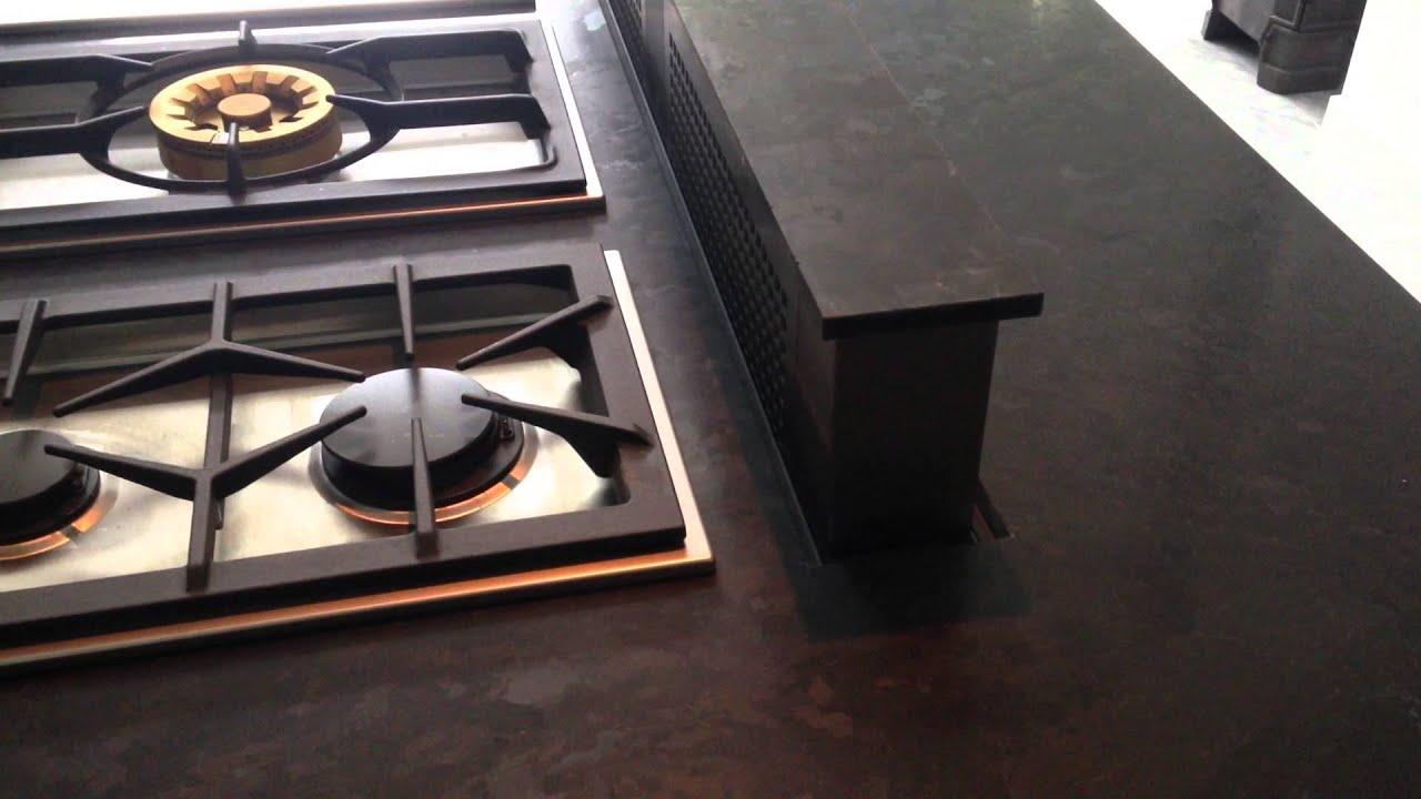 Brown Antique granite countertop