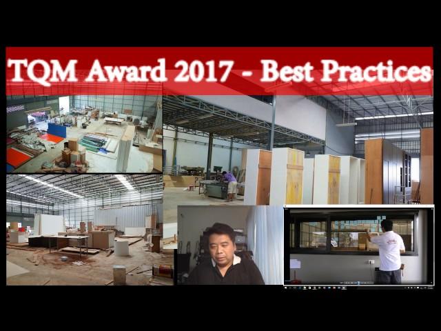 TQM Award 2017 - Best Practices