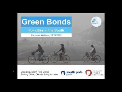 Green bonds for cities in the Global South