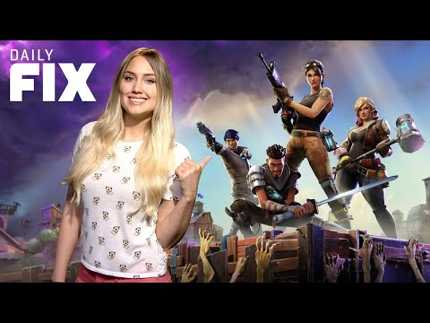 Fortnite Battle Royale Will Be Free-to-Play - IGN Daily Fix