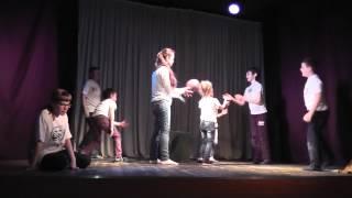 Juliya в спектакле. Открытый урок. Театр Аэлита.