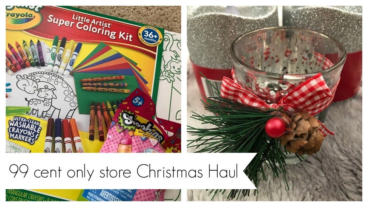 99 cent store christmas haul - 99 Cent Store Christmas Hours