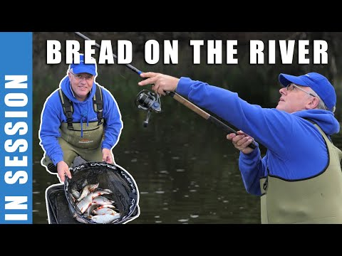 River Fishing With Bread Punch