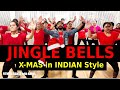 Jingle Bells Dance | Bhangra Dance Workout | Jingle Bells in Indian Style | FITNESS DANCE With RAHUL