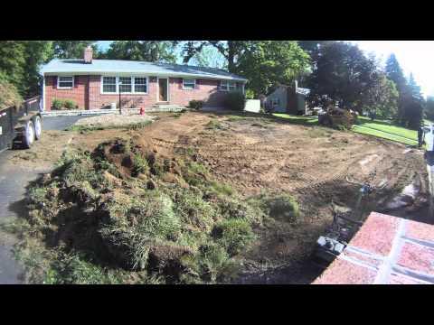 Aldino Sod Farms - Complete Lawn Sod Project Timelapse