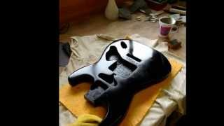 David Gilmour Black Strat Replica Guitar Project