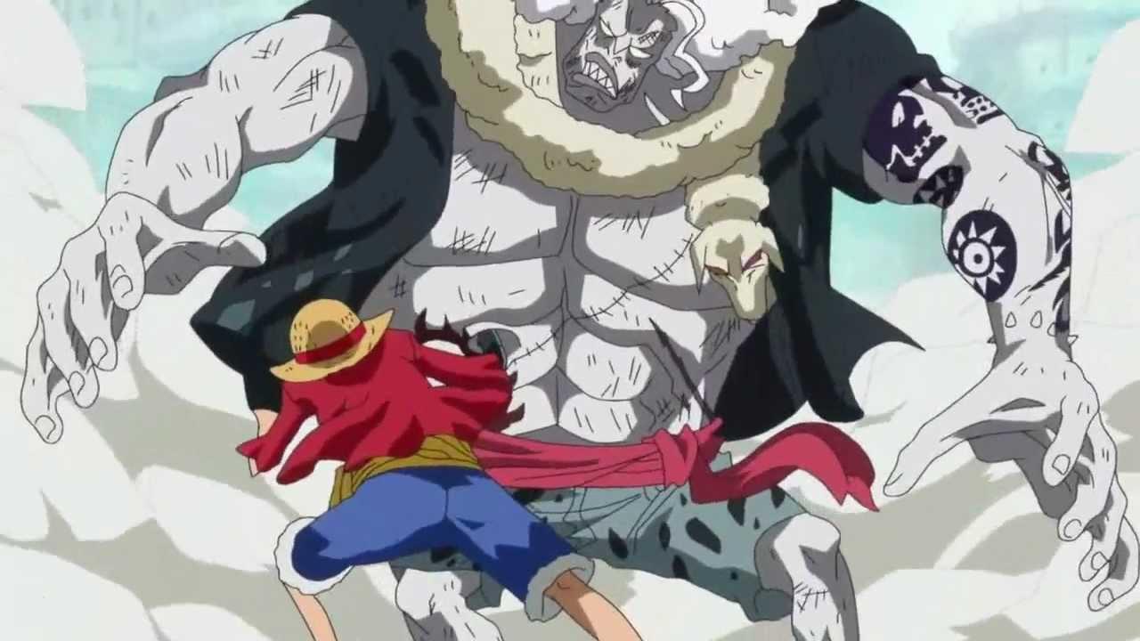 One Piece Luffy Armament Haki | www.pixshark.com - Images ...
