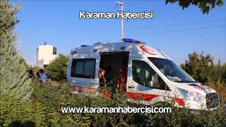 Karaman Haber - Karaman Ereğli Yolu Trafik Kazası