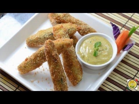 Crispy Fingers - Eggplant - By Vahchef @ VahRehVah.com