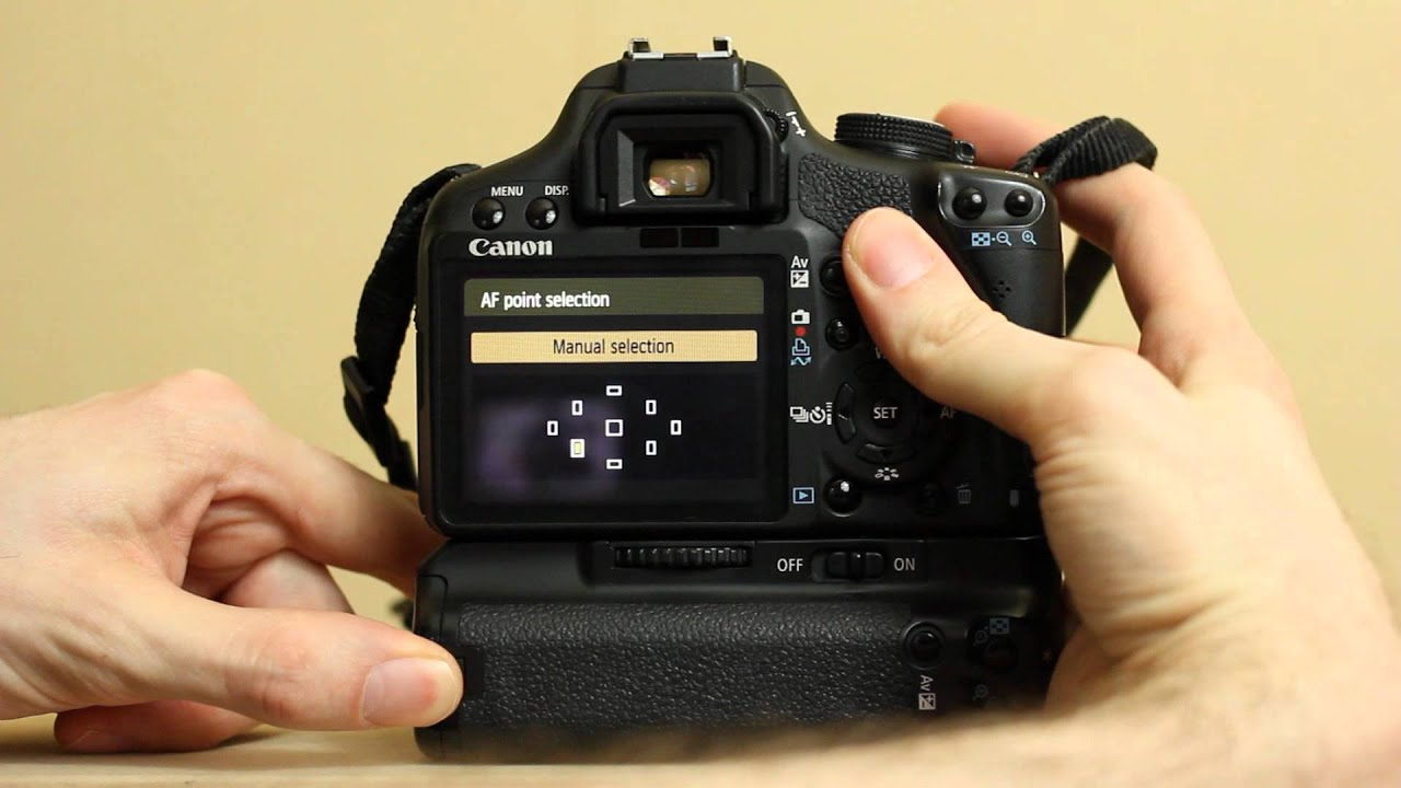 Canon eos 1000d tutorial video