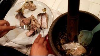 C/w Nana: Lao Smashed Fish Soup (ປົ່ນປາ == Pohn Pa)