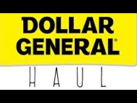 Dollar General Haul March 12, 2019
