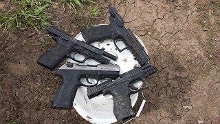 PPQ, PT92, P-09, PX4 Pistol Mud Torture Test