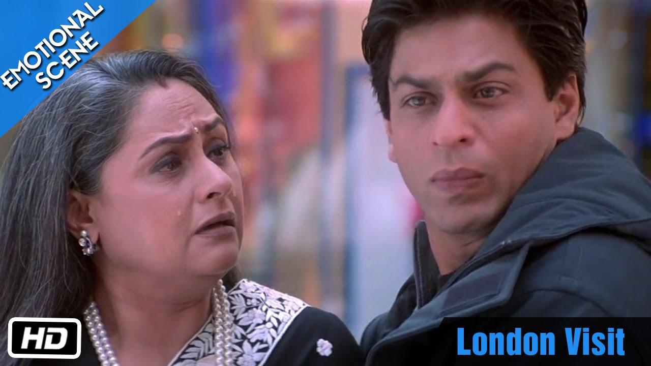 London Visit - Emotional Scene - Kabhi Khushi Kabhie Gham ...