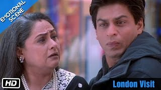Video London Visit - Emotional Scene - Kabhi Khushi Kabhie Gham - Shahrukh Khan, Amitabh Bachchan download MP3, 3GP, MP4, WEBM, AVI, FLV Oktober 2019