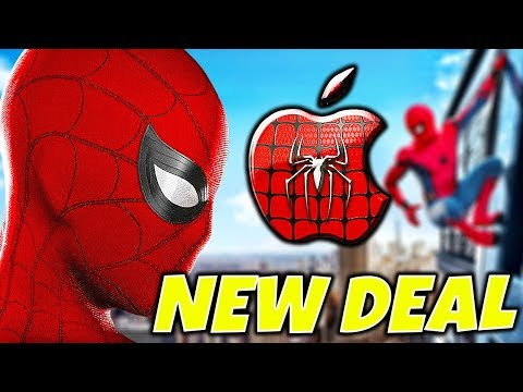 SPIDER-MAN and VENOM to the MCU!! (MARVEL + SONY + APPLE DEAL)
