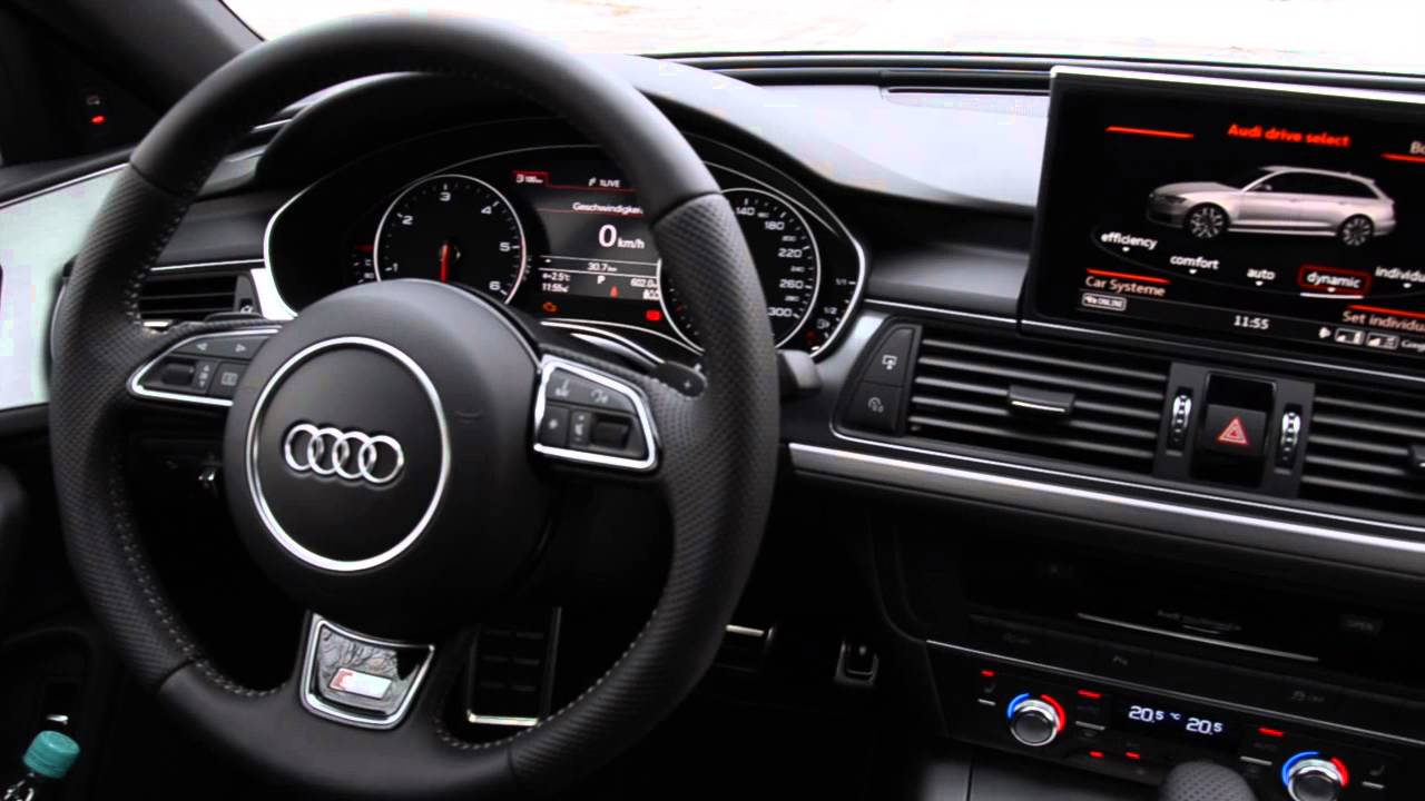 Audi A6 Facelift 2015 - Cockpit / Armaturenbrett - YouTube | {Armaturenbrett audi 34}