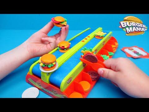 Burger Mania Bordspel met Family Toys Collector