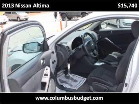 2013 nissan altima used cars columbus ga youtube. Black Bedroom Furniture Sets. Home Design Ideas