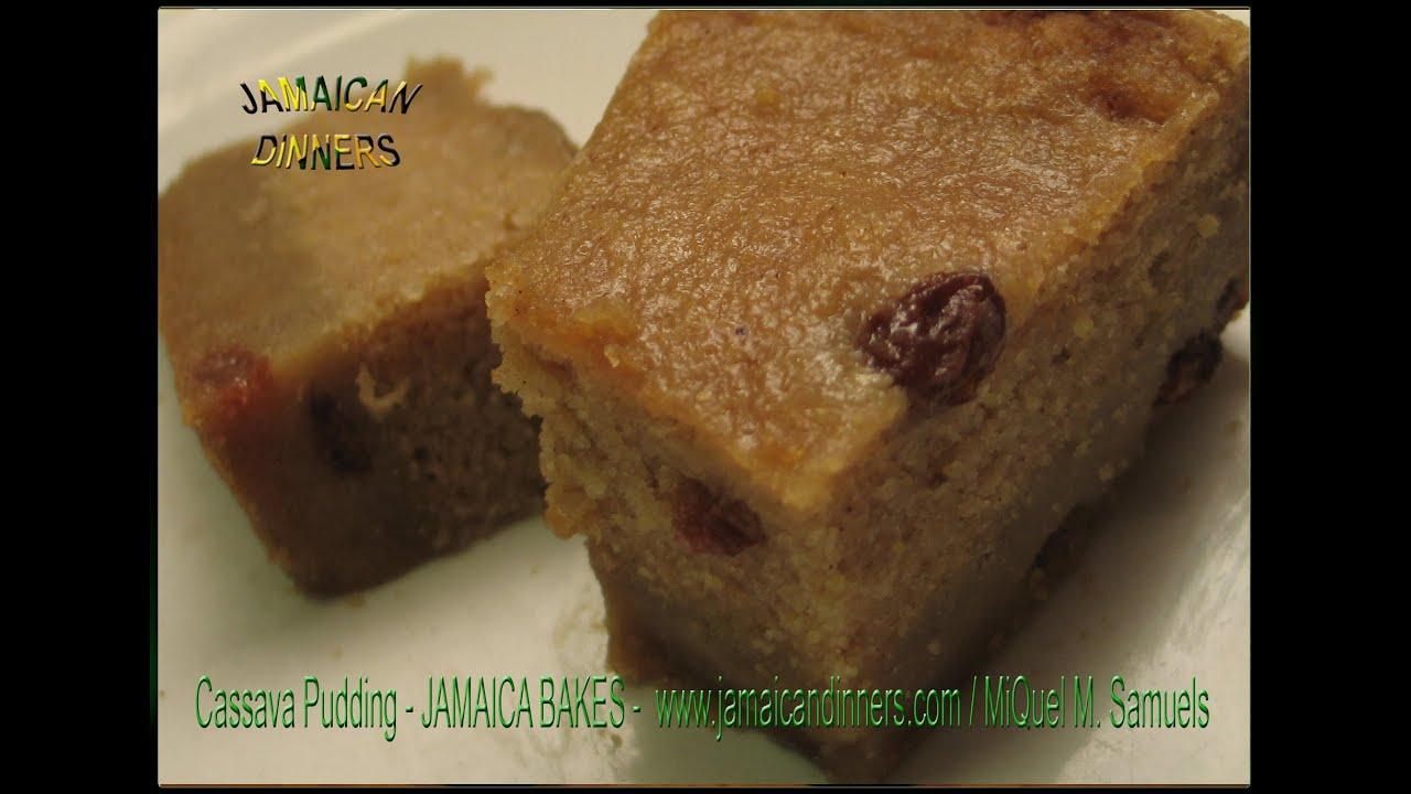 Cassava Cake Using Fresh Cassava