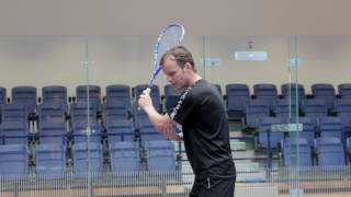 Squash tips: The backhand volley