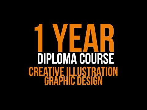 1 YEAR DIPLOMA COURSE - CREATIVE ILLUSTRATION & GRAPHIC DESIGN