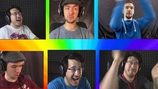 A Markiplier and JackSepticEye Rainbow Road Symphony