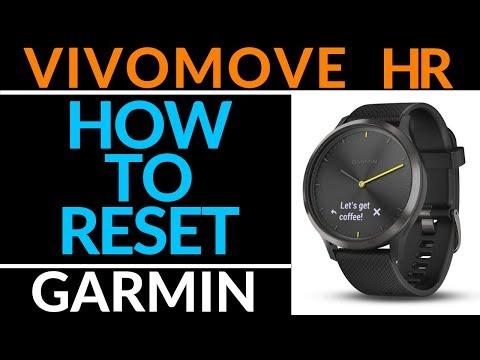 How to Factory Reset the Vivomove HR - Garmin Vivomove HR Tutorial