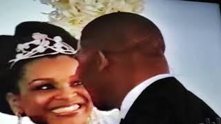 Lisa Raye & Michael Misick wedding