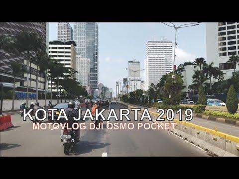 Kota Jakarta 2019, Motovlog By Gojek Dan Uji Coba Kamera DJI Osmo Pocket - Wonderful Indonesia