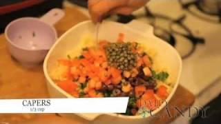 How To Make Greek-inspired Millet Salad
