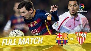 Full Match FC Barcelona vs Sevilla FC LaLiga 2015/2016