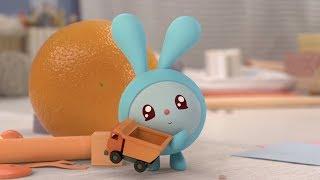 Малышарики - Раскраска для детей - Бусики