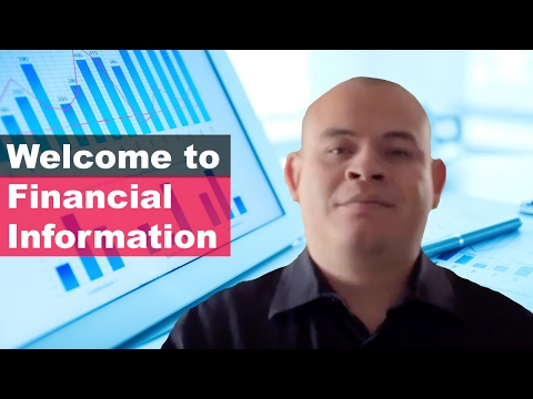 Financial Information Channel Intro🎙